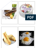 Food Flashcards PDF