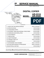 SHARP-AR-5316 Service Manual