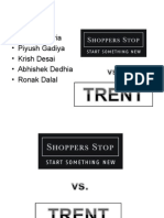 Shoppers Stop vs Trent Ppt