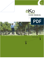 eKo Pro Series Users Manual