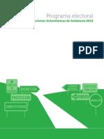 Programa Electoral 2012