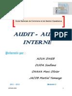 Audit Audit Interne