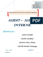 Audit Audit Interne