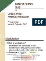 Communications Systems - Modulation (Amplitude Modulation)