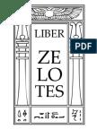 Liber Zelotes Portuguese