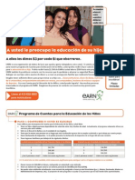 EARN Spanish Orientation Mar17