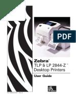 Zebra - 2844-Z UserGuide En
