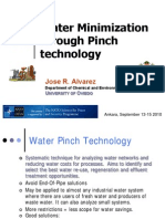 Water Minimization Through Pinch Technology