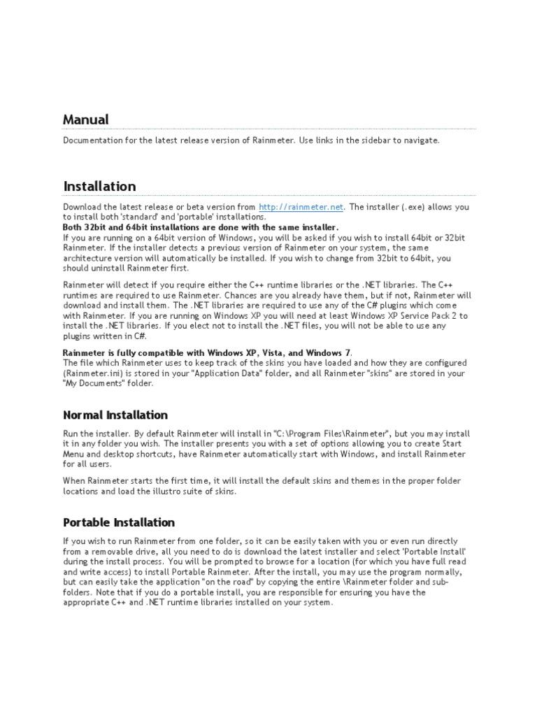 RManual   Windows Registry   Installation (Computer Programs)