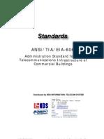 Standard - TIA 606
