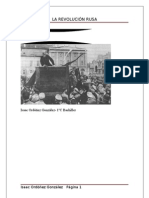 Isaac Ordóñez-La Revolución Rusa