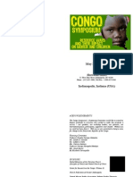 Detailed Program for Congo Symposium