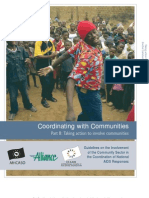Coordinating With Communities - Book B