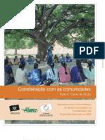 Coordenação com as comunidades - Cartas de Acção
