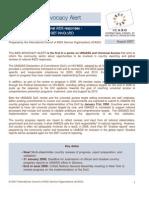 AIDS Advocacy Alert - August 2007