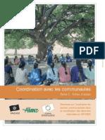 Coordination avec les communautés - Fiches d'action