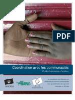 Coordination avec les communautés - Guide d'animation d'ateliers