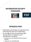Information Security Standards