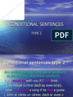 Conditional Sentences Type 2