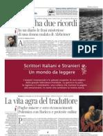 """Traduzione, bozze, traduzione, """"La Lettura"""", 4 marzo 12"""