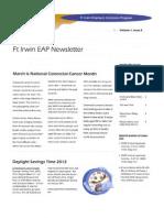 March EAP Newsletter
