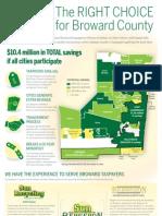 Sun Bergeron Savings to Broward Cities for Waste Disposal
