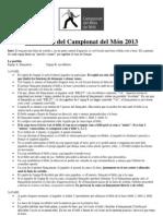 Normativa Del Joc 2012