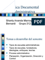 Práctica Documental y Administrativa