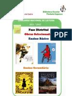 Plano Nacional de Leitura Fase Distrital