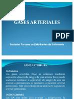 Analisis de Gases Arteriales.