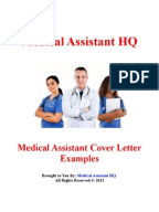 medical assistant cover letter examples medical assistant cover letter example