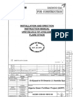Installation Manual Urea Flare Stack