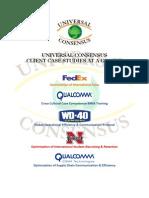UC CASE STUDIES FedEx Qualcomm WD40 Univ Nebraska QCT Pentagon