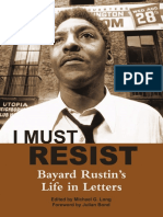 Introduction and First Two Chapters of I Must Resist