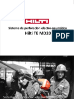 Sistema HILTI TE MD20