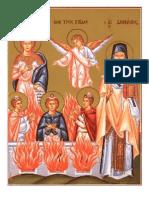Daniel 3.24-90; Salmo en El Horno
