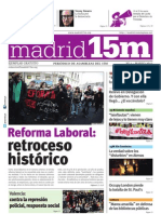 Madrid15M. Marzo. Número 1