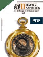 Paul Ricoeur Tiempo y Narracion II