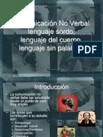 Comunicación no verbal No. 8
