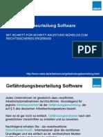 Gefährdungsbeurteilung Software
