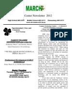 March 2012 School Newsletter