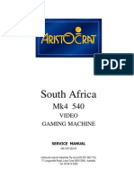 540 SA ServiceManual