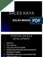 Strategi Sales