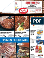 IGA's specials for the week of March 5th 2012