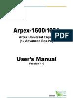 Arpex-1600_Manual_v10_20080909