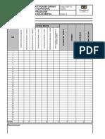HSP-FO-314-003 Reporte de Actividades diarias Terapia Ocupacional