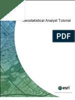 Tutorial Geostatistical Analyst
