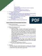 Guide to Cashflow 101 Training