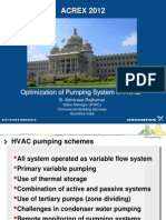 Optimization of Pumping Systems in HVAC
