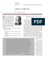 Four Circles Intimacy with God by J. Oswald Sanders